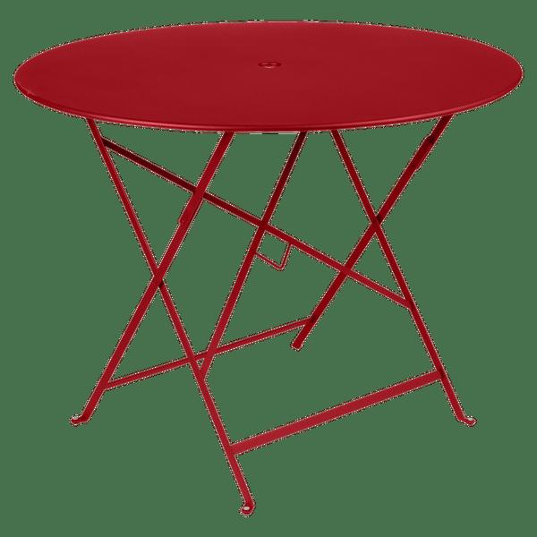 Fermob Bistro Table Round 96cm in Poppy
