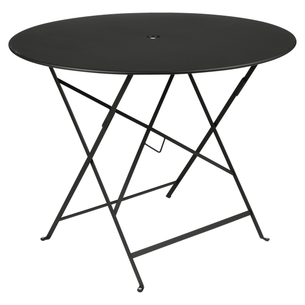 Fermob Bistro Table Round 96cm in Liquorice