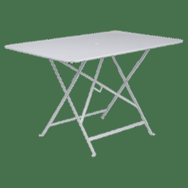 Fermob Bistro Table Rectangle 117 x 77cm in Cotton White