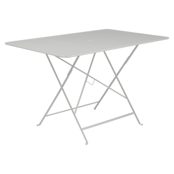 Fermob Bistro Table Rectangle 117 x 77cm in Steel Grey