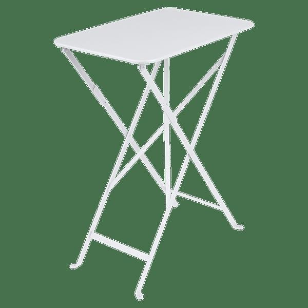 Fermob Bistro Table Rectangle 57 x 37cm in Cotton White