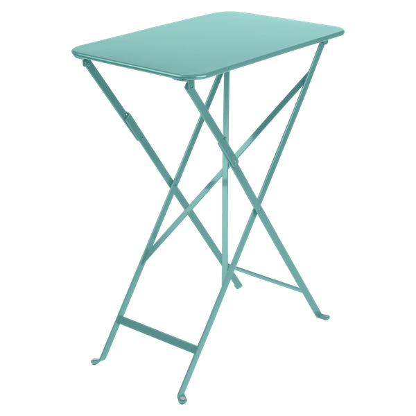 Fermob Bistro Table Rectangle 57 x 37cm in Lagoon Blue