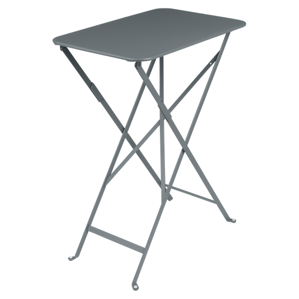 Fermob Bistro Table Rectangle 57 x 37cm in Storm Grey