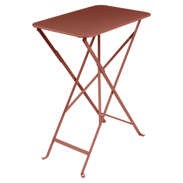 Fermob Bistro Table Rectangle 57 x 37cm in Red Ochre
