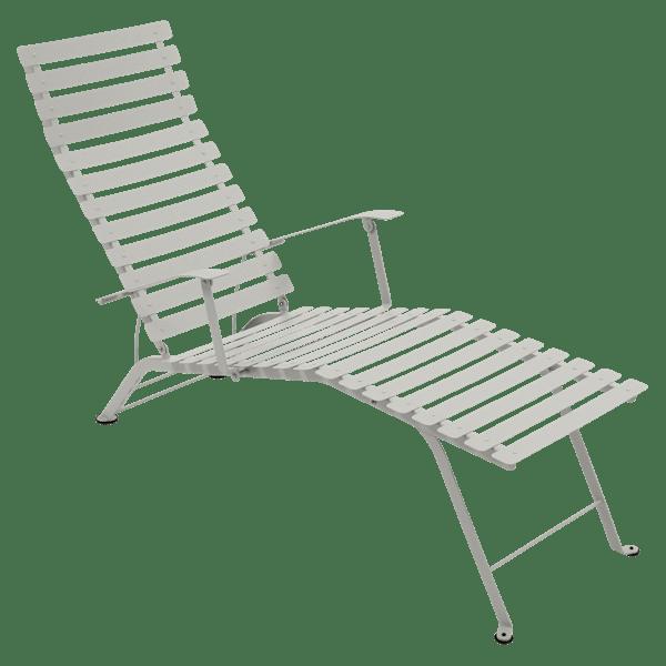 Fermob Bistro Deck Chair in Clay Grey