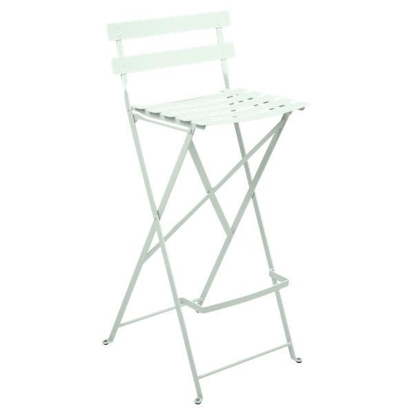 Fermob Bistro High Stool in Ice Mint
