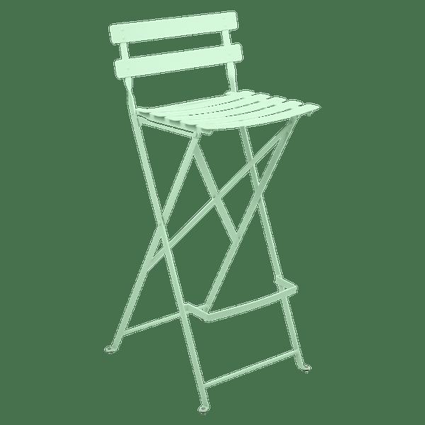 Fermob Bistro High Stool in Opaline Green