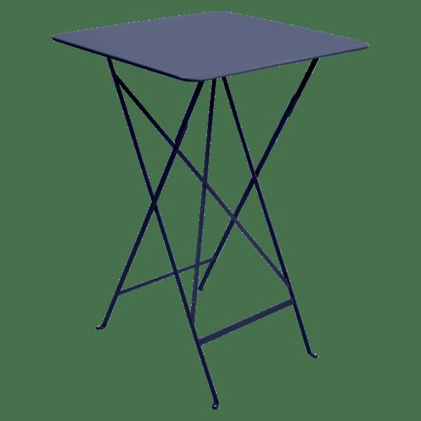 Fermob Bistro High Table 71 x 71cm in Deep Blue