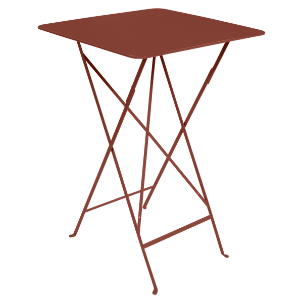 Fermob Bistro High Table 71 x 71cm in Red Ochre