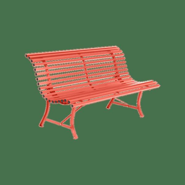Fermob Louisiane Bench 150cm in Capucine