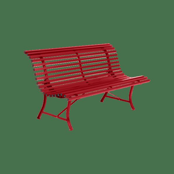 Fermob Louisiane Bench 150cm in Poppy