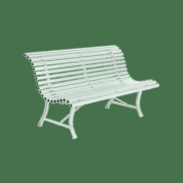 Fermob Louisiane Bench 150cm in Ice Mint