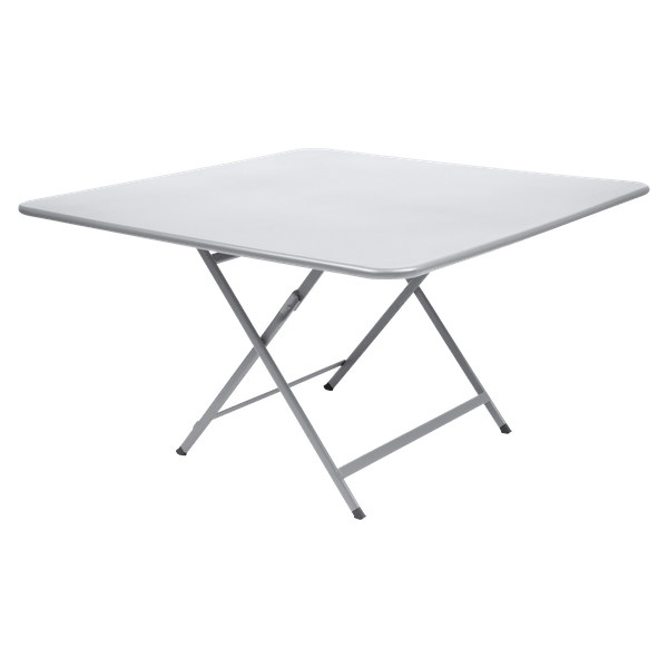 Fermob Caractère Table 128 x 128cm in Cotton White