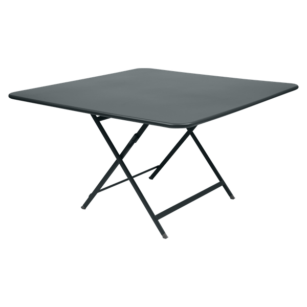 Fermob Caractère Table 128 x 128cm in Storm Grey
