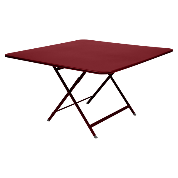 Fermob Caractère Table 128 x 128cm in Chilli