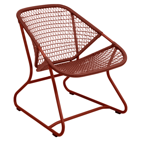 Fermob Sixties Armchair in Red Ochre