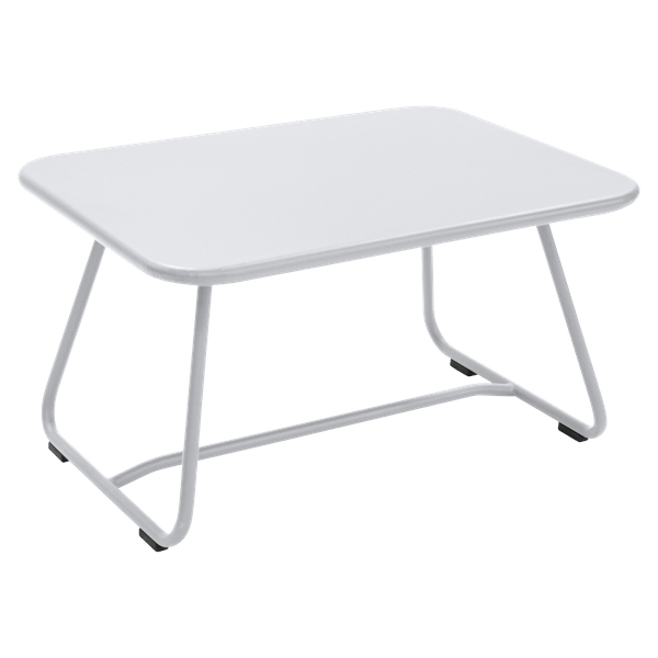 Fermob Sixties Low Table in Cotton White