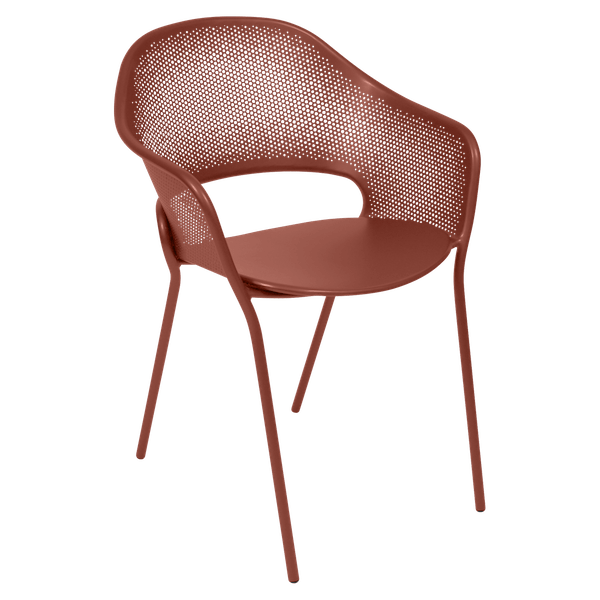 Fermob Kate Armchair in Red Ochre
