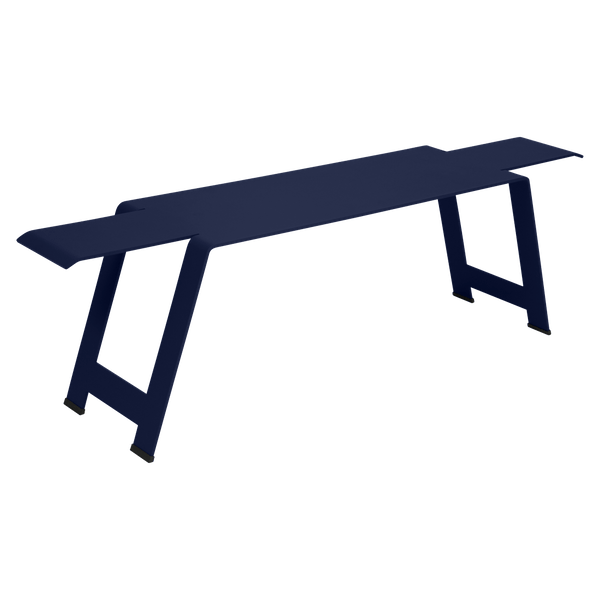 Fermob Origami Bench in Deep Blue