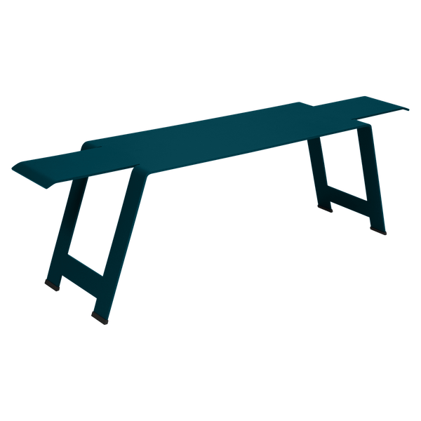 Fermob Origami Bench in Acapulco Blue