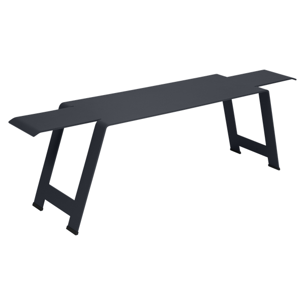Fermob Origami Bench in Anthracite