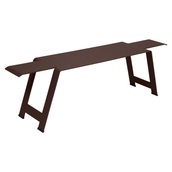 Fermob Origami Bench in Russet