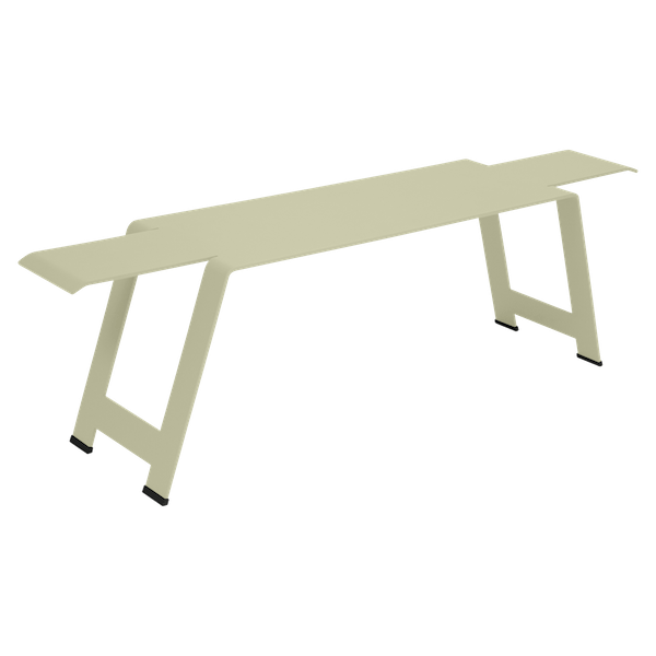 Fermob Origami Bench in Willow Green