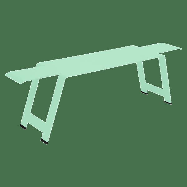 Fermob Origami Bench in Opaline Green